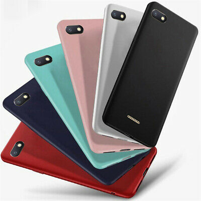 For Xiaomi Redmi 6 6A 5A 5 Plus Go Frosted Soft TPU Silicone Rubber Cover Case