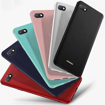 For Xiaomi Redmi 7 6 6A 5A 5 Plus Note 7 Go Frosted Soft TPU Silicone Case Cover