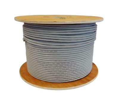 Cat6a 23 AWG Solid U/FTP LSZH Ivory Grey 100% Copper Data Cable 10gig lot