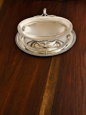 - Christofle French Silverplate Sauce Boat With Underplate 1935–83