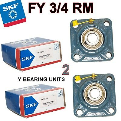 SKF FY 3/4 RM Y BEARING PILLOW BLOCK total of 2