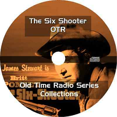 * SIX SHOOTER JAMES STEWART (OTR) OLD TIME RADIO * 40 EPISODES on MP3 CD *