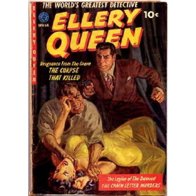 * ELLERY QUEEN (OTR) OLD TIME RADIO SHOWS * 68 EPISODES on MP3 DVD * MYSTERY