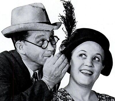 * FIBBER MCGEE AND MOLLY (OTR) OLD TIME RADIO SHOWS * 37 EPISODES on MP3 CD *