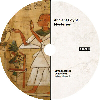 *ANCIENT EGYPT EGYPTIAN MYSTERIES HISTORICAL * 100+ RARE ANCIENT BOOKS on DVD *
