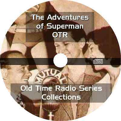 * The Adventures Of Superman (Otr) Old Time Radio Shows * 1024 Episodes Mp3 Dvd