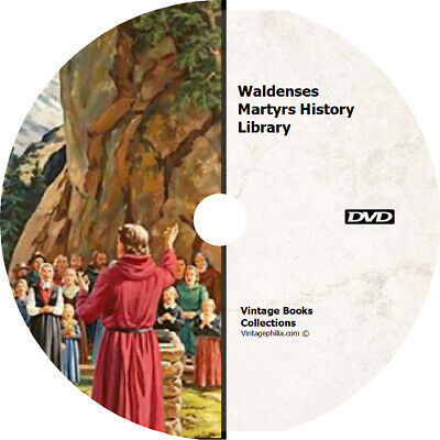 * Waldenses Martyrs Persecutions Christian * 100 History Rare Books On Dvd *