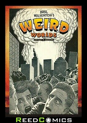 BASIL WOLVERTON WEIRD WORLDS ARTIST EDITION HARDCOVER New Boxed Sealed Hardback