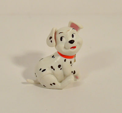 "1.5/"" Mini Dog Puppy Red Collar Joystick PVC Action Figure Disney 101 Dalmations"