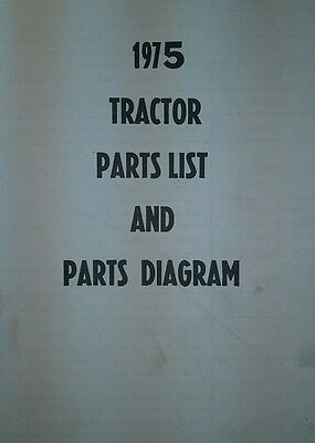 gilson montomery ward lawn garden tractor 1975 parts manual gil- 42pg rare  find