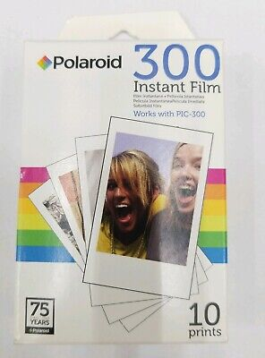 Polaroid 300 Instant Film PIF-300 10 Prints Brand New And Sealed