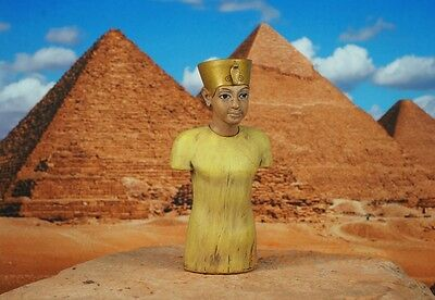 Egypt Egyptian Civilization Pyramid Pharaoh King Tut Statue Figure Model K1166 D