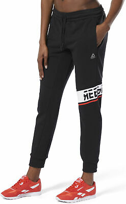 Reebok WOR Meet You There Graphic Womens Joggers - Black
