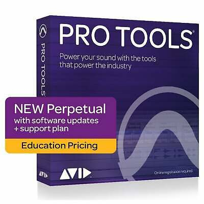 Avid Pro Tools 2018.12 Perpetual License EDU (Serial Download)