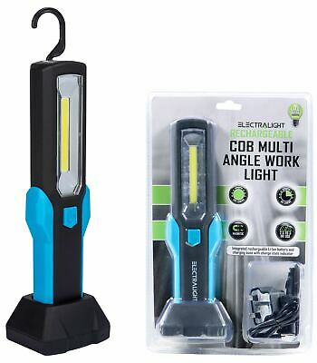 Electralight COB LED Work Light Cordless Inspection Torch Li-Ion Rechargeable