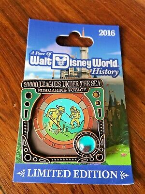 2016 Piece of Disney History 20000 Leagues Under the Sea 3-D Pin LE 1500 NEW