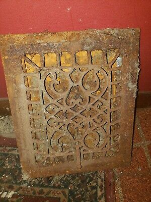 Antique grate Register 12x10 Victorian