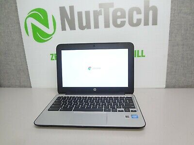 "HP ChromeBook 11 G3 11.6"" Celeron N2840 2.16GHz 2GB/16GB SSD Chrome Laptop NoAC"