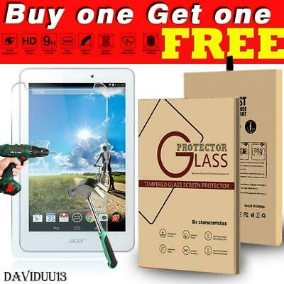 Tablet Tempered Glass Screen Protector Cover For Acer Iconia Tab 8 A1-840 FHD