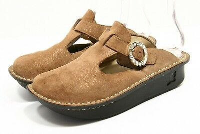 01fcf1ea535 Alegria PG Lite Shoes Womens sz 6 - 6.5 Leather Clogs Slip on Mules loafers  36