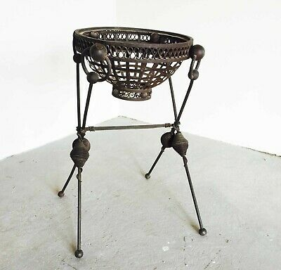 Italian Antique/Vintage Wrought Iron Plant Stand