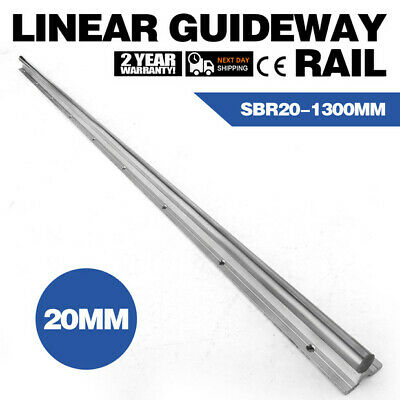1300mm Supported Linear Rail Shaft Linear Slide 20mm Chrome-Plated Bearing