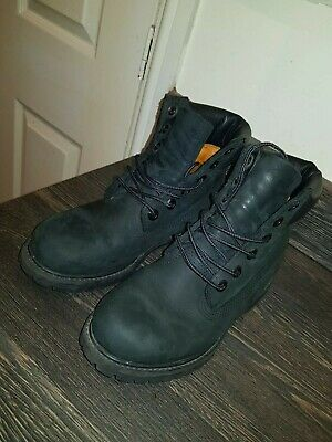 a02d5a0eb826 Womens Timberland Boots ® 8658A Padded Collar 6-Eyelet Nubuck UK Size 3 US 5