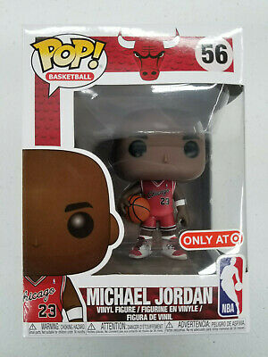 Funko Pop! Michael Jordan #56 NBA Chicago Bulls Basketball Target Exclusive