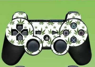 Weed LEAF Ps3 Controller Skin Sony Playstation 3 No Control PAD INCLUDED Game