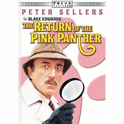 The Return of the Pink Panther DVD, Peter Sellers, Christopher Plummer, Catherin