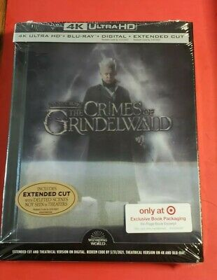 Fantastic Beasts The Crimes Of Grindelwald (4KUHD/BluRay/Digital)Extended Target