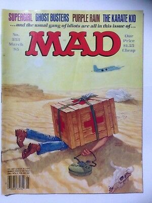MAD Comic. US Edition Dated March 1985, Issue 253 **Free UK Postage**