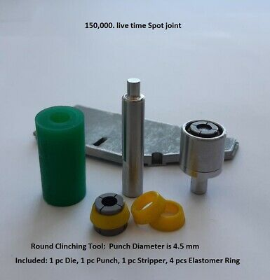 Punch and Die for Joining Sheet Metal (Clinching machine & tool)