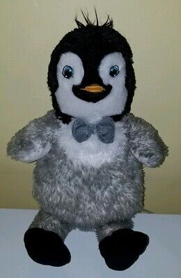 c05a5d9350b Build A Bear Happy Feet Two Mumble Erik Penguin Plush Stuffed Animal Lights  Up