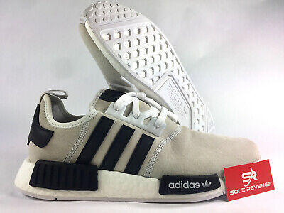 quality design 6c6a4 c3327 NEW adidas NMD R1 XENO Gray White Boost Shoes F97418 White Black Blue c1