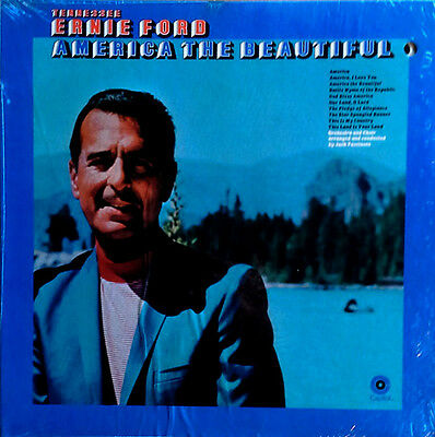 Tennessee Ernie Ford - America The Beautiful - Capitol Lp - Still Sealed