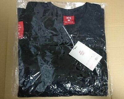 BTS LOVE YOURSELF World LY Tour Official black T-shirt M size OPENED unworn