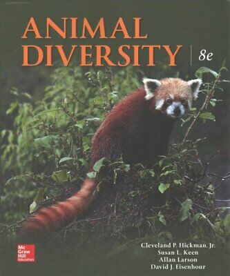 Animal Diversity by Larry S. Roberts 9781259756887 | Brand New
