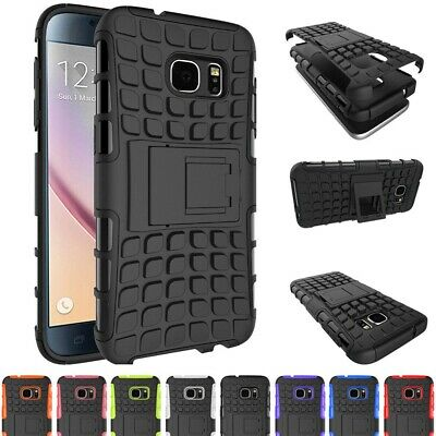 Shockproof Case For Samsung Galaxy S6 Hybird Slim Bumper Rubber Protective Cover