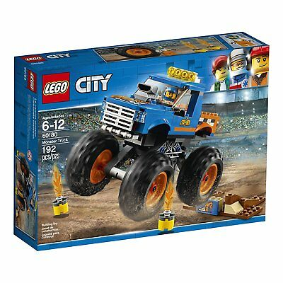 NEW LEGO City Great Vehicles Monster Truck 60180 Building Kit (192 Piece)