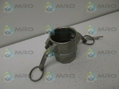 Dynaflo 150-D 316 Quick Connect Coupling *New No Box*