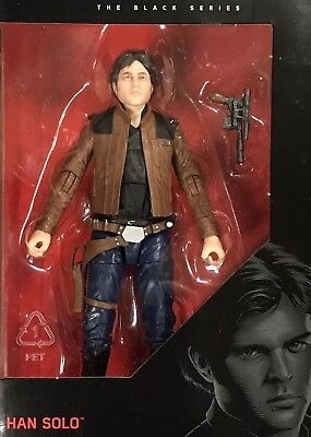 """Star Wars Authentic Black Series 6/"""" Inch #62 SOLO Han Solo Loose Complete"""