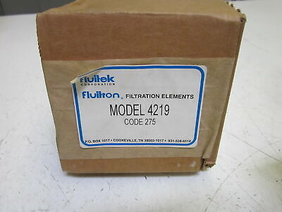 Fluitron 4219 Code 275 Filter *New In Box*