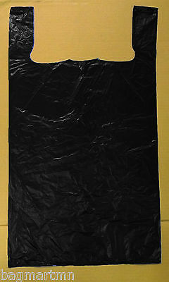 """50 Extra Large 32/"""" Black Retail Merchandise Toy Pack Cloth Plastic Shopping Bags"""