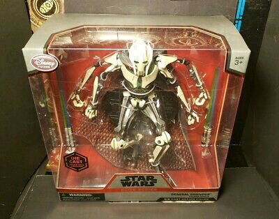 Star Wars Elite Series GENERAL GRIEVOUS die cast Disney collector