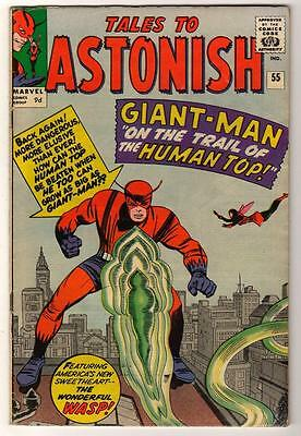 Marvel TALES TO ASTONISH 55  FN-  Mid high grade GIANT MAN AVENGERS  5.0