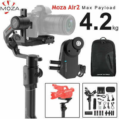 MOZA Air 2 3 Axis Stabilizer DSLR Handheld Gimbal Wireless follow focus 4.2KG ZZ