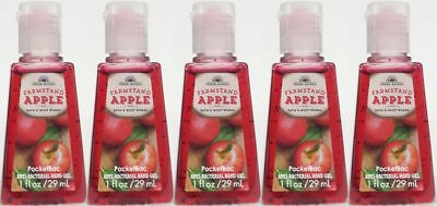 5 Bath&Body Works Fresco Picked - Farmstand Manzana Pocketbac Antibacteriano Gel
