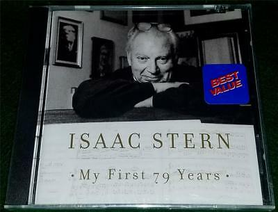 ISAAC STERN, My First 79 Years, CD, SEALED