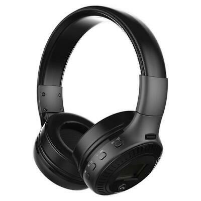 B-19 Wireless Over The Ear Bluetooth Headphone - Foldable Design with in-built H